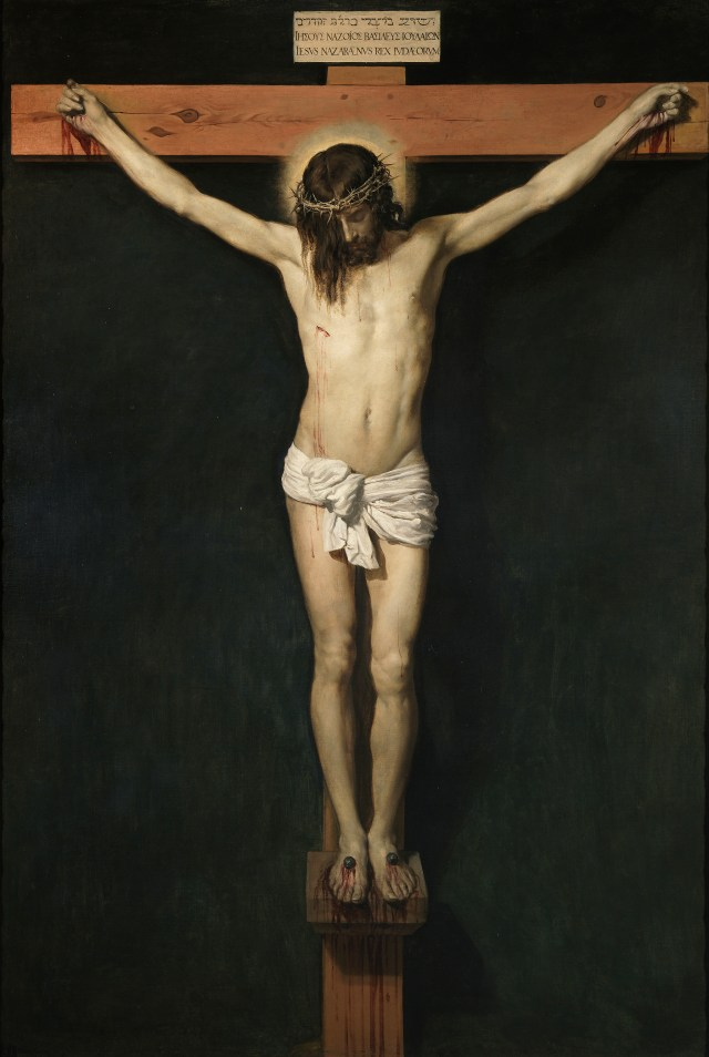 My God on the cross