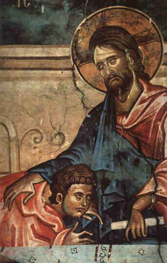 "English: Damian. ""Jesus Christ and St. Jo..."