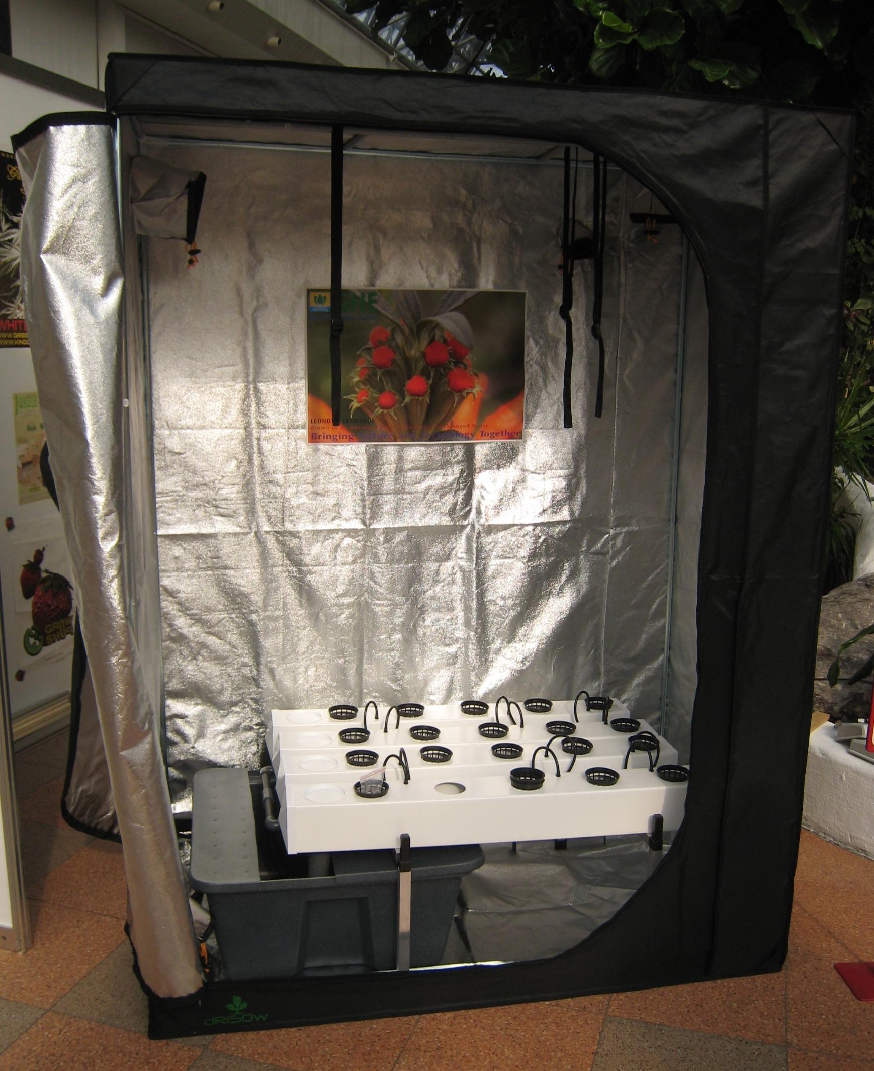 Hydroponic Pc Grow Box