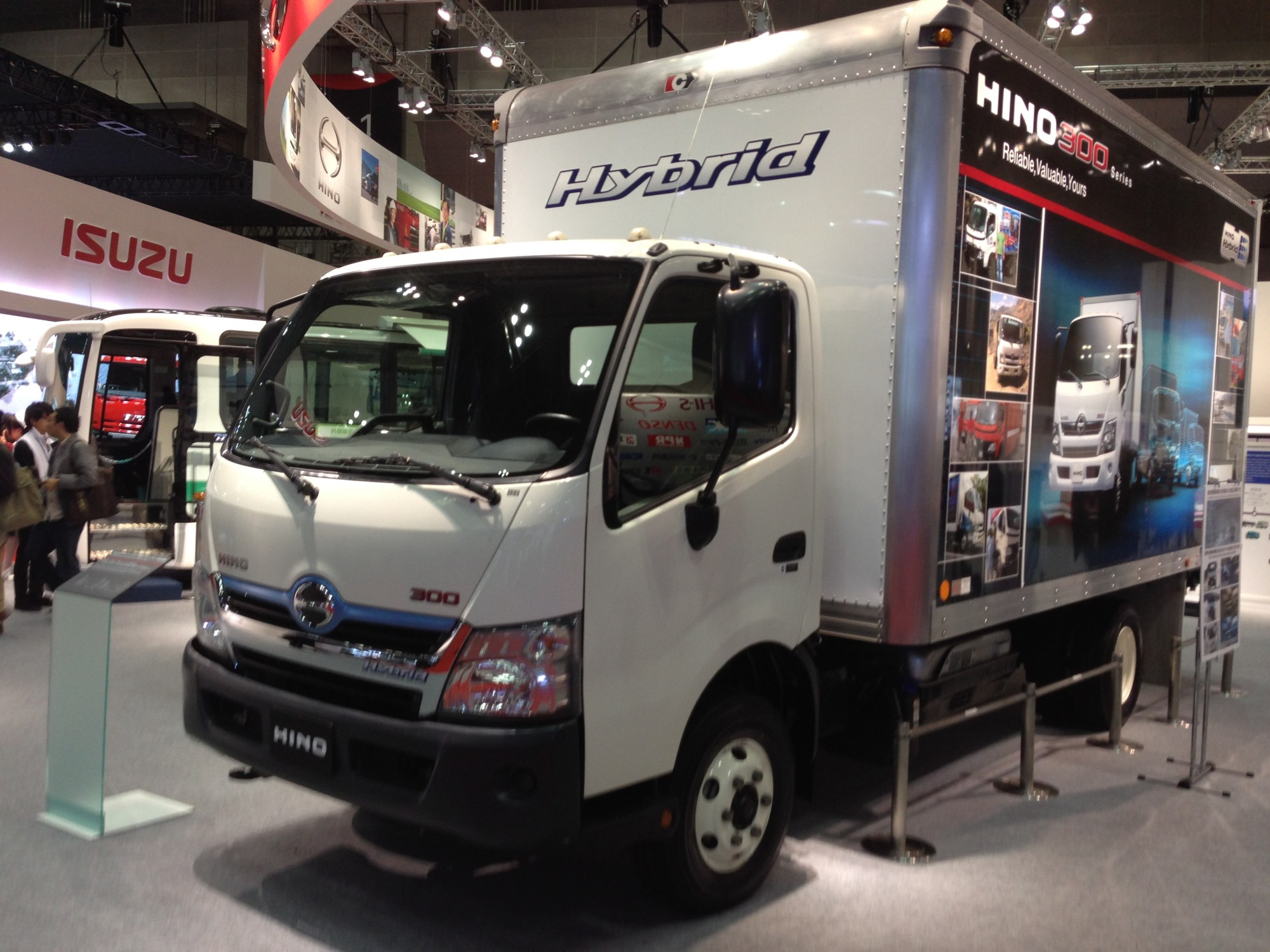 hight resolution of hino 300 series hybrid us spec