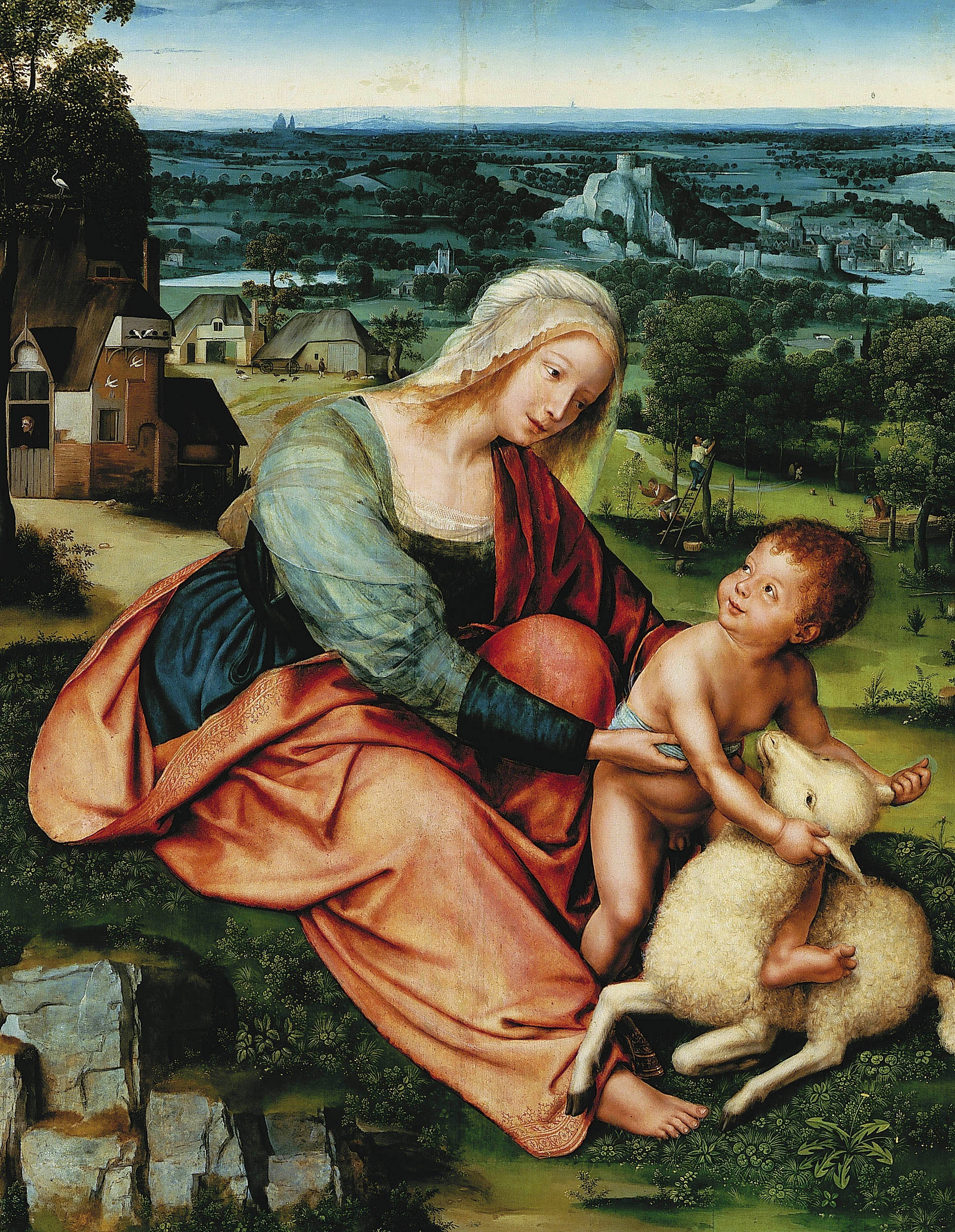 File:Massys Madonna and Child.jpg