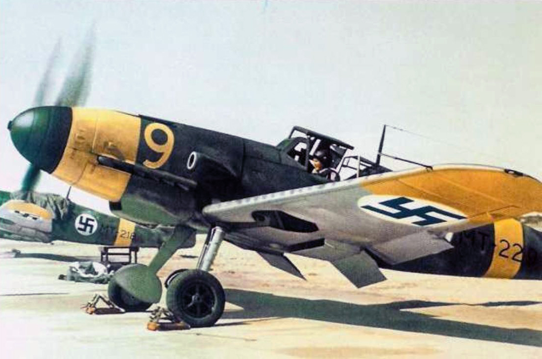 A classic picture of a Bf 109G-2 'Gustav' in Finnish service. Source:  Wikimedia Commons/SA-kuva