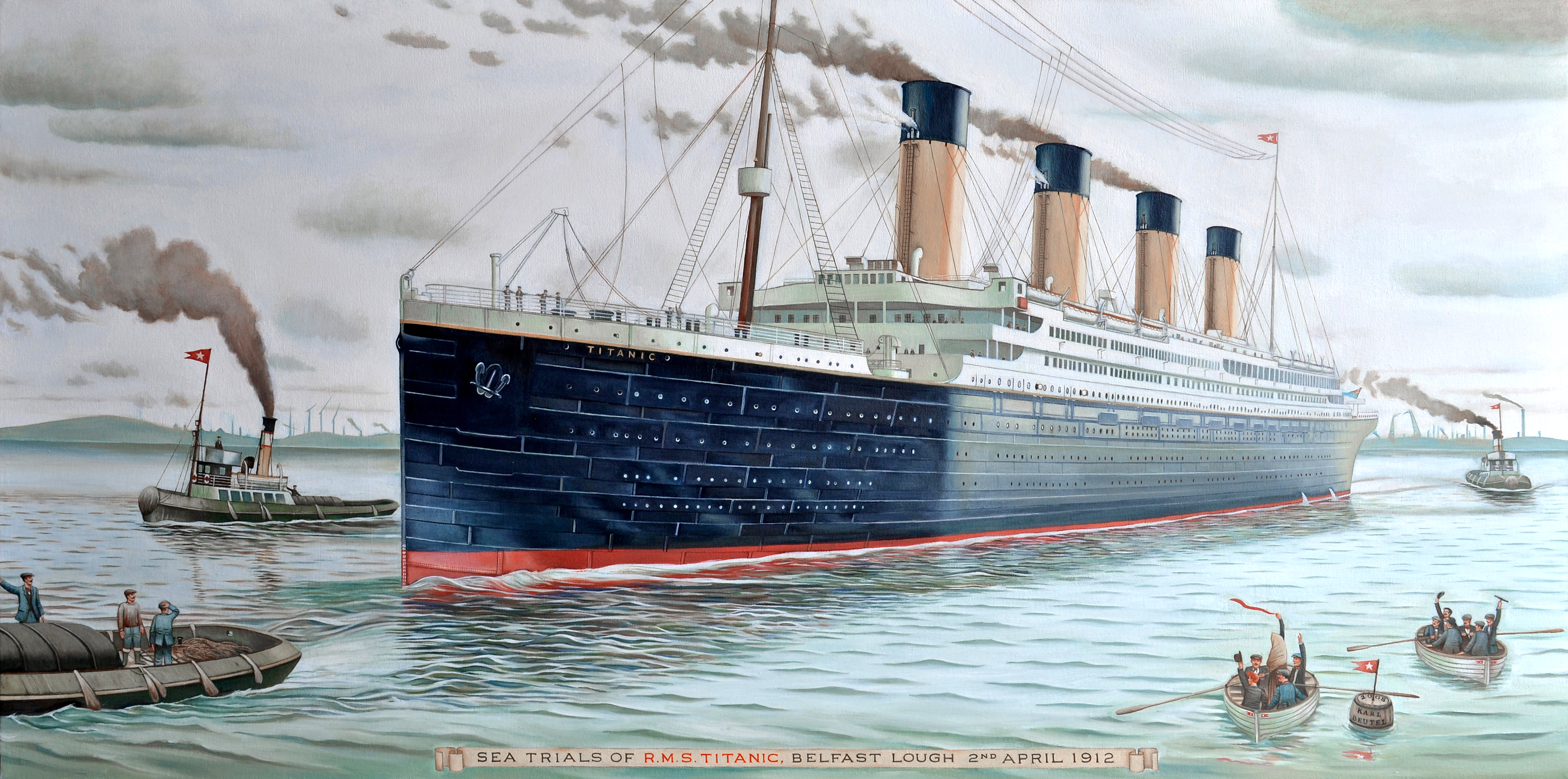 File Sea Trials Of Rms Titanic 2nd Of April
