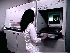 en:DTM SLS-based rapid prototyping machine, Br...