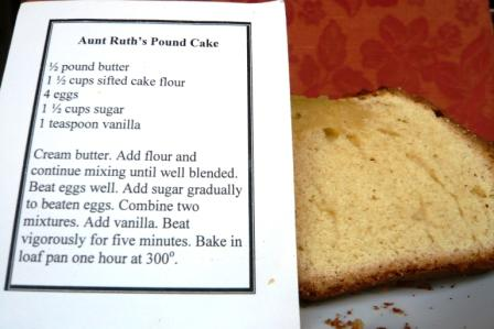 Image result for vanilla pound cake