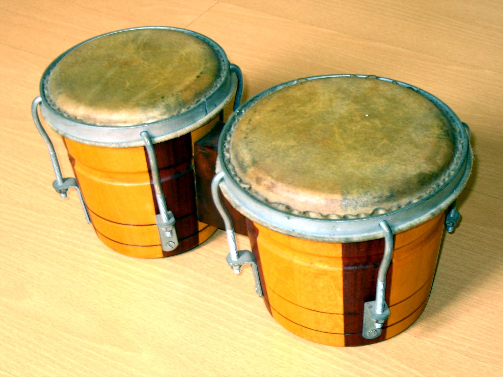 hight resolution of bongo drum