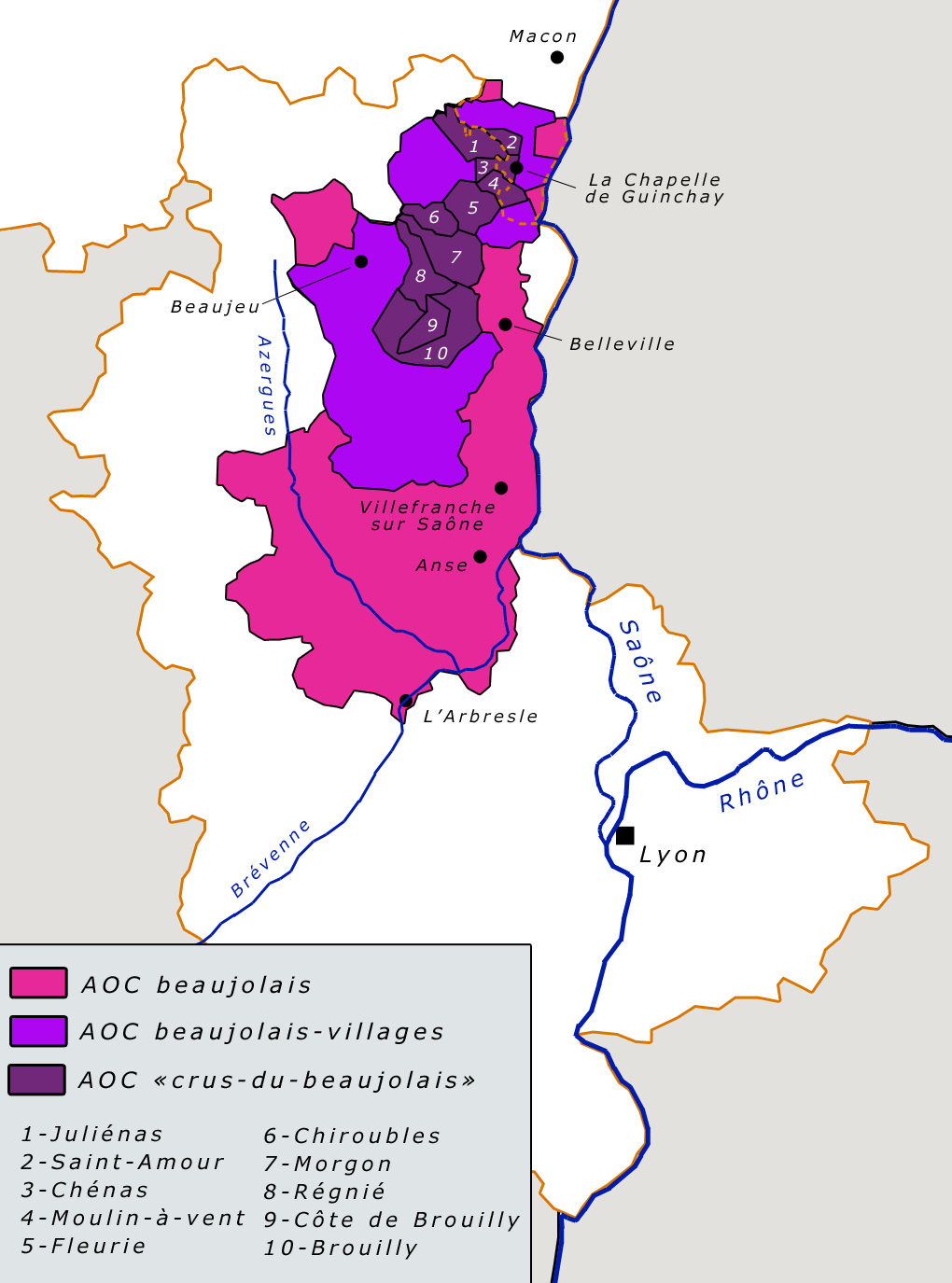 domaine du beaujolais