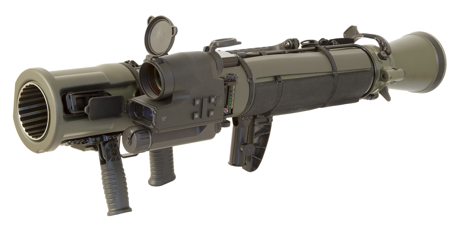 hight resolution of the m3e1 is an updated m3 by using titanium the weapon system is six pounds lighter 2 5 inches shorter and has an improved carrying handle