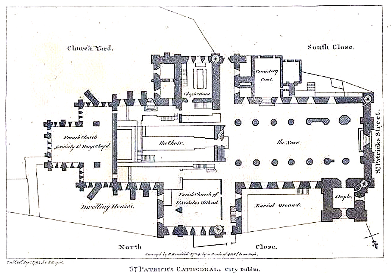 File Dublin Sttrick S Cathedral Plan