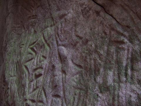 Stone age (5000 BC) writings of Edakkal Caves in Kerala, India.