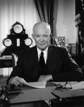 President Dwight D. Eisenhower, Oval Office