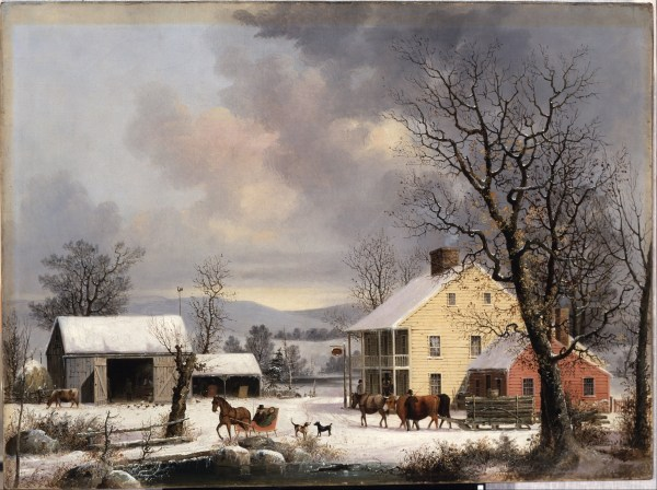 George Henry Durrie Winter in the Country