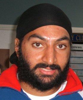 Monty Panesar at Cricketforce Launch, Upminste...
