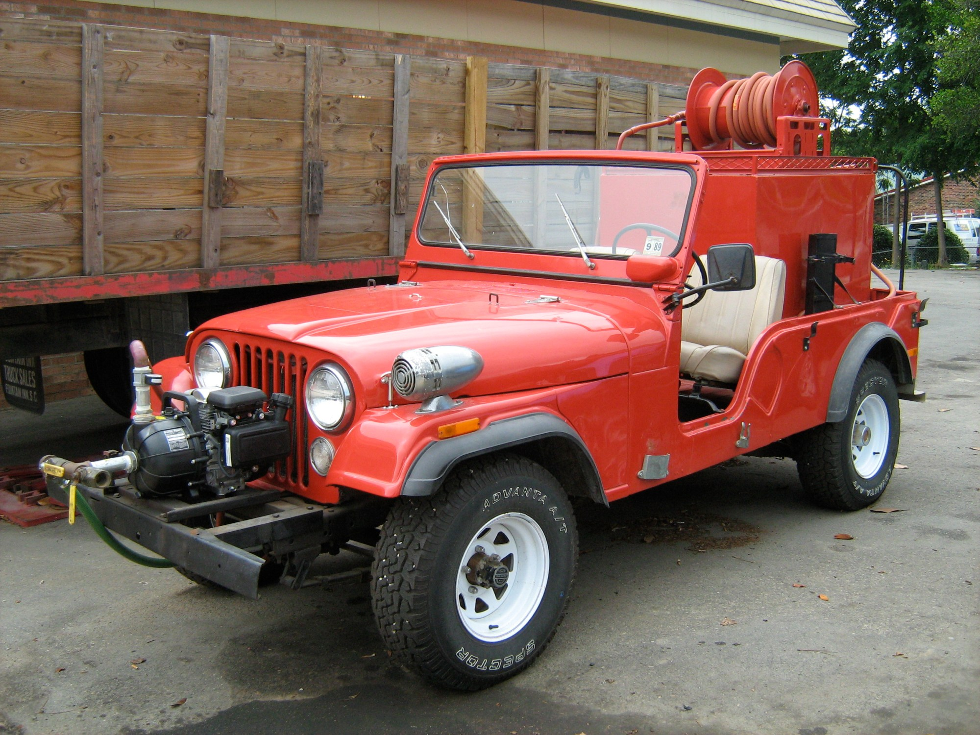 hight resolution of jeep cj 6 fire engine in north carolina 2009