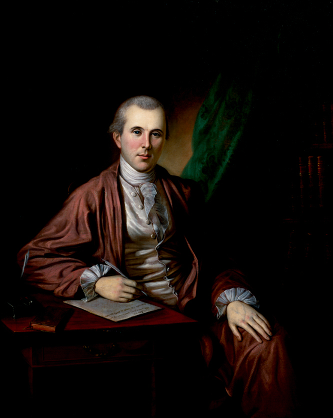 Dr. Benjamin Rush painted by Charles Willson P...
