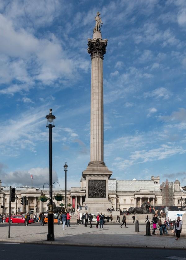 Nelson's Column Trafalgar Square London Photo