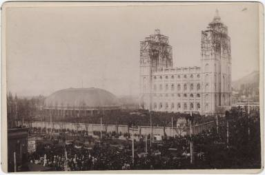 Salt Lake Temple Dedication Day