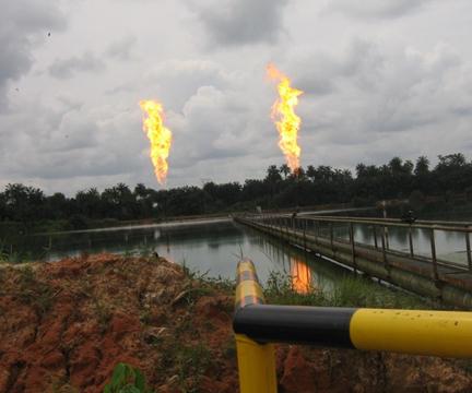 Niger Delta Gas-Flares