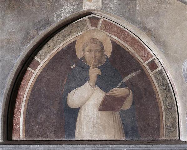 San Pietro Martire che ingiunge il silenzio  Wikipedia