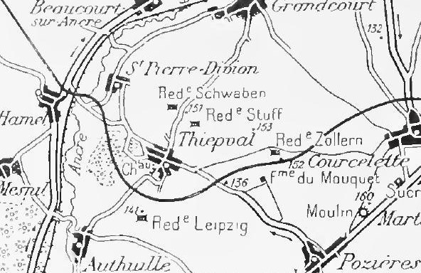 File:Capture of Thiepval, Battle of Thiepval Ridge