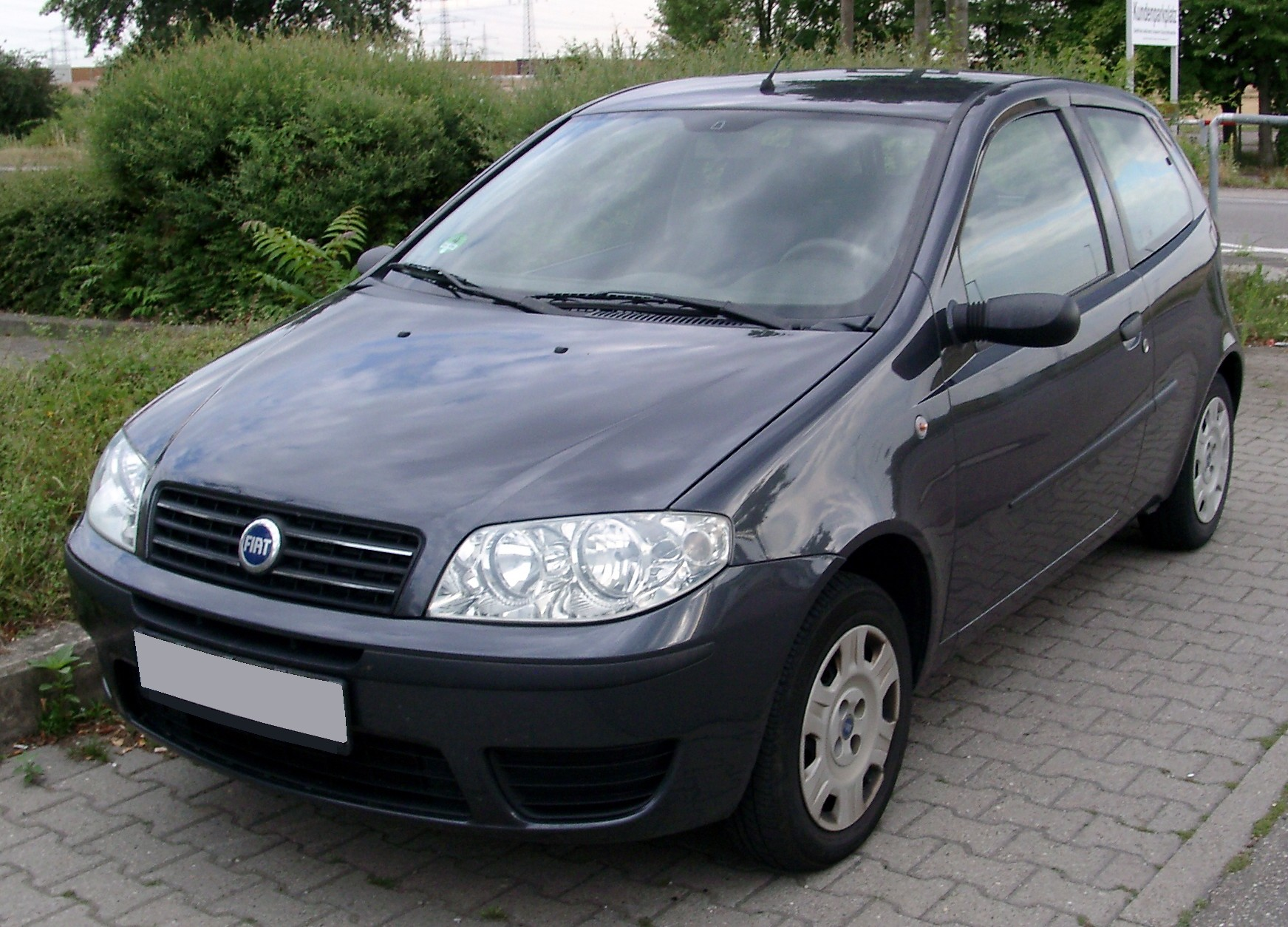 hight resolution of file fiat punto front 20080714 jpg