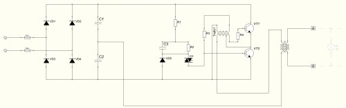 small resolution of file wiring diagram of power supply for halogen lamps jpg