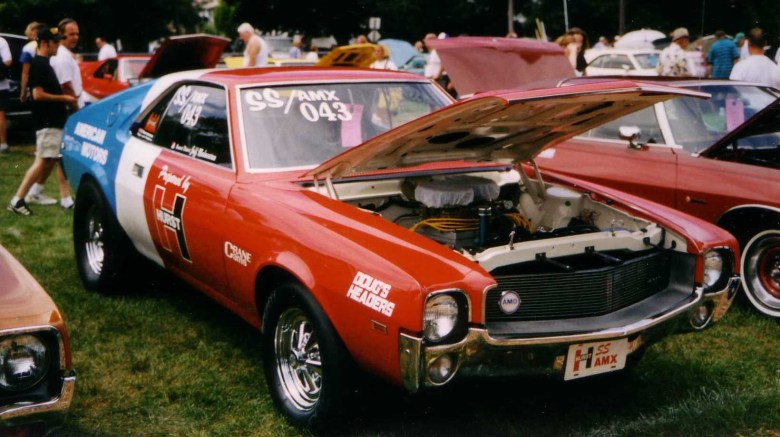 File:1969 AMC AMX SS Hurst at Kenosha show.jpg - Wikimedia Commons