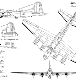 boeing b 17 flying fortress wikipedia b 17 engine diagram [ 1280 x 960 Pixel ]