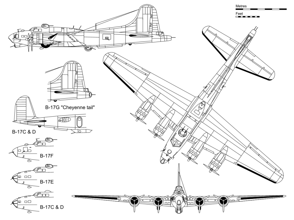 medium resolution of boeing b 17 flying fortress wikipedia b 17 engine diagram