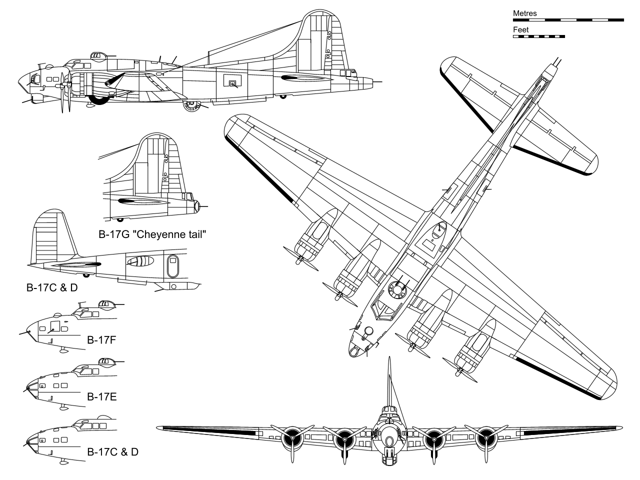 hight resolution of boeing b 17 flying fortress wikipedia b 17 engine diagram