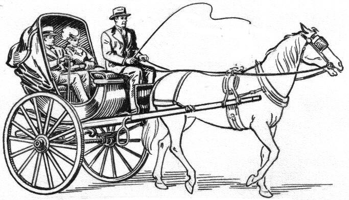 botanicalnabokov: calèche / hackney coach