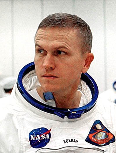 Christmas Day prayer by Apollo 8 astronaut Frank Borman ...