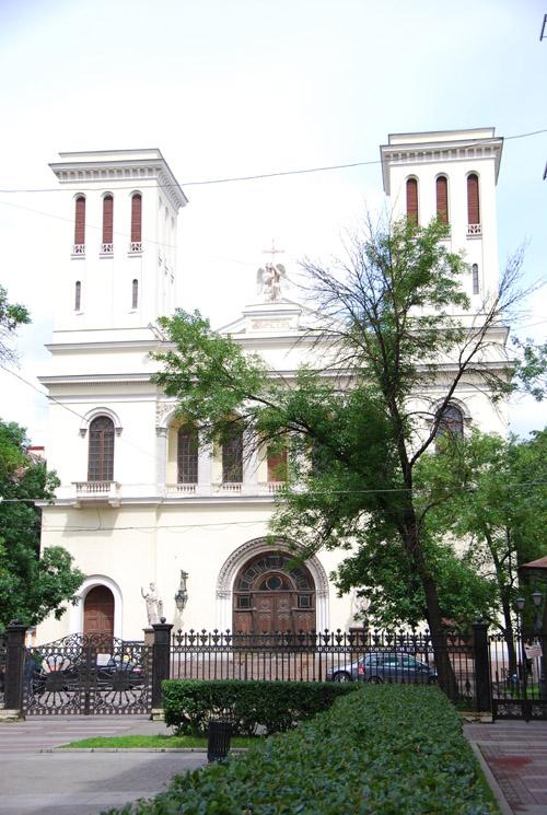 Igreja Luterana de São Pedro e São Paulo em São Petersburgo, na Rússia.