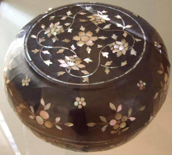 Chinese Lacquer Mother of Pearl