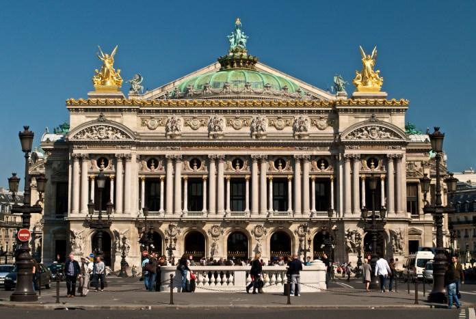 Resultado de imagen para Fotos del teatro Ópera de París