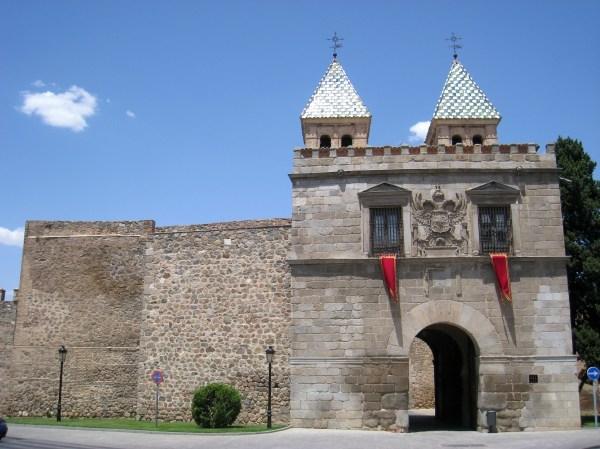 File Puerta De Bisagra Toledo - View Wikimedia