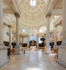 File St Stephen Walbrook Church Interior 1 London Uk