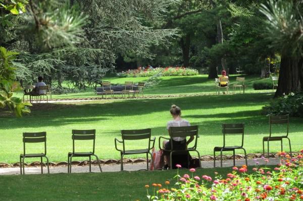 Jardin Du Luxembourg Gardens