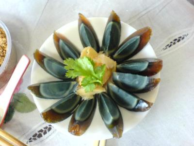 finediningindian.com Arranged century egg on a plate.jpg