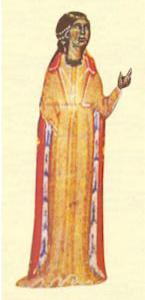 Beatriz de Dia from Bibliothèque Nationale, MS cod. fr. 12473, 13th century
