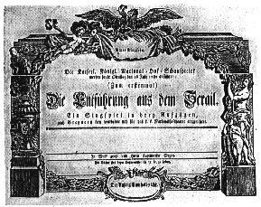 English: Wolfgang Amadeus Mozart's opera Die E...