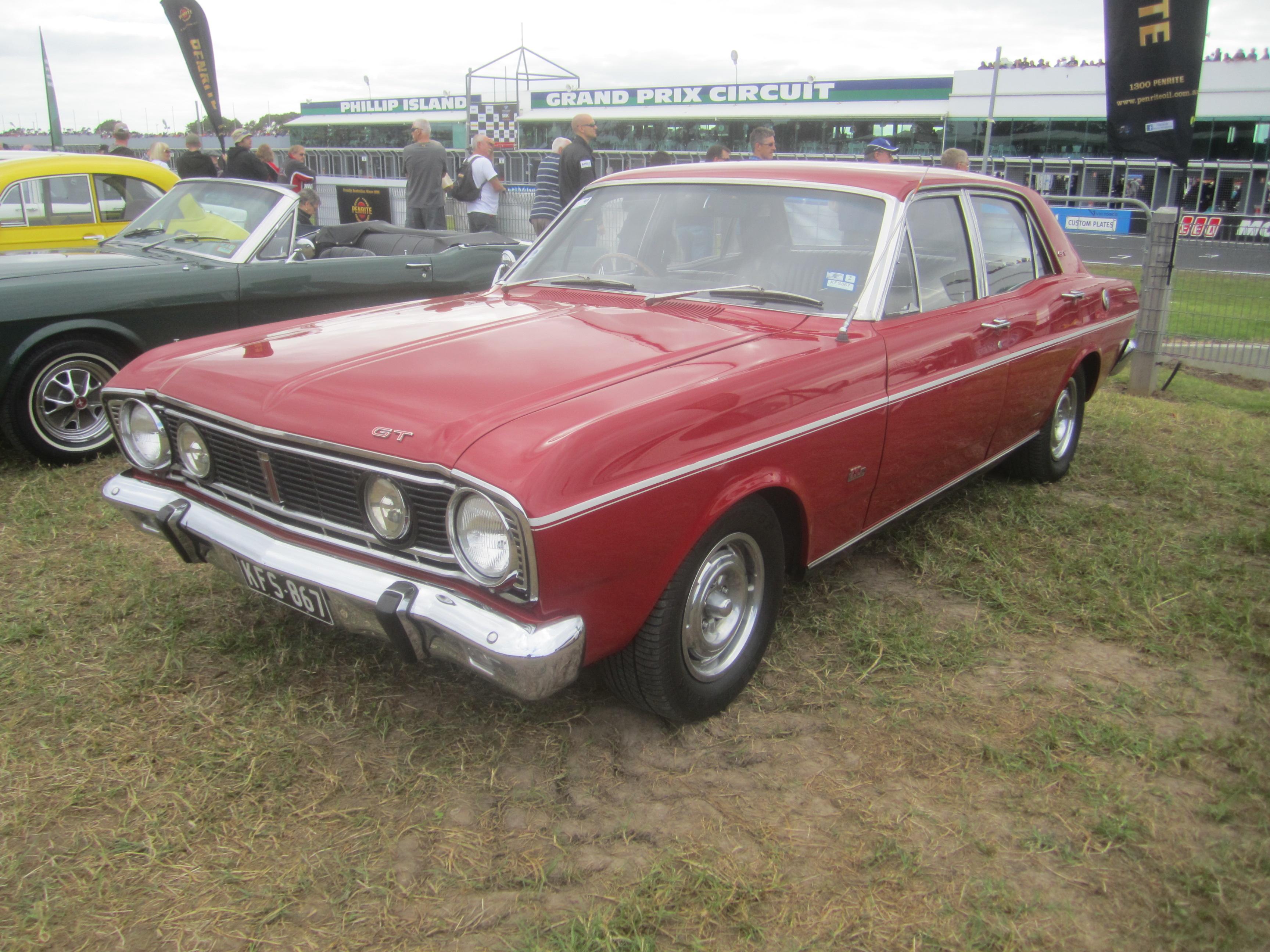 1968 Ford Falcon Gt