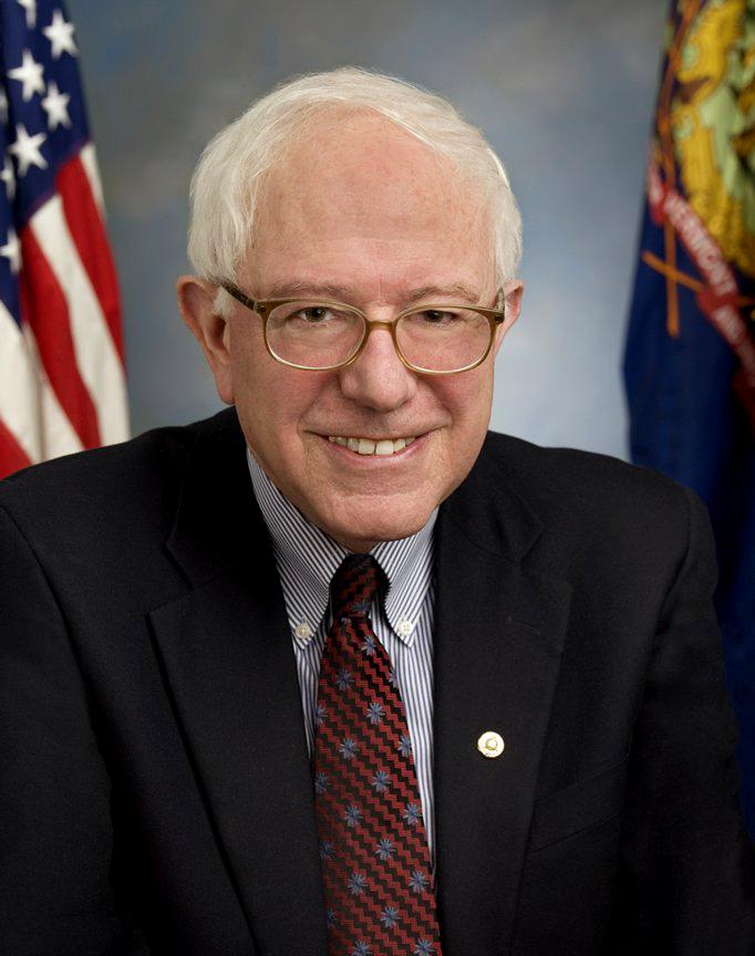 Senator Bernie Sanders of Vermont