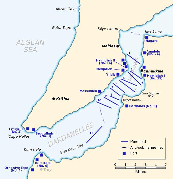 Dardanelles Map
