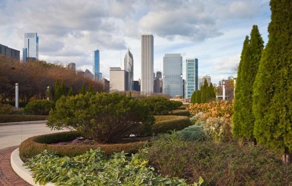 File Grant Park Chicago Illinois Estados Unidos 2012