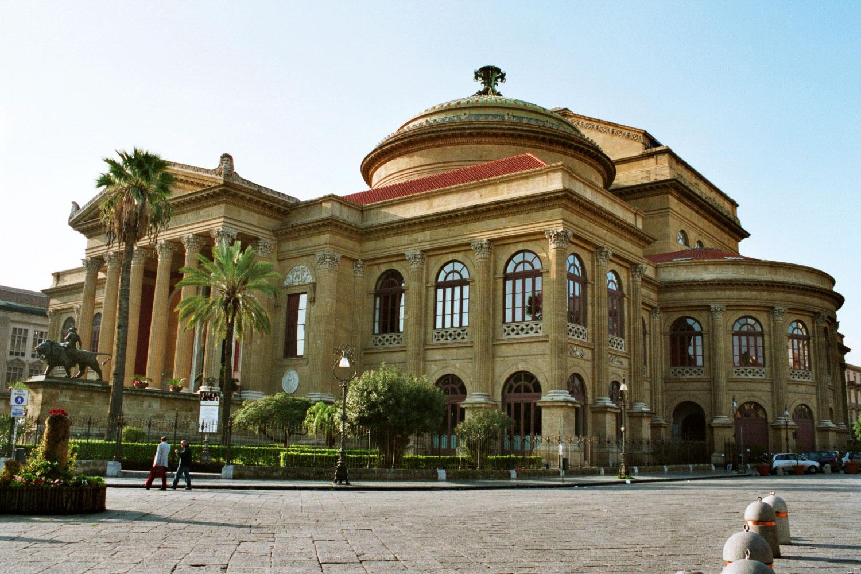 Teatro Massimo, sede oficial del II GFM