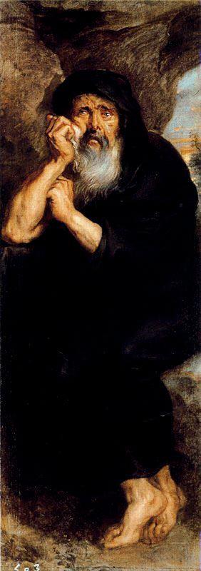 Heráclito y Demócrito Peter P. Rubens, 1603 Mu...