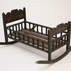 Rocking Chair Cradle Folding Steel Babies