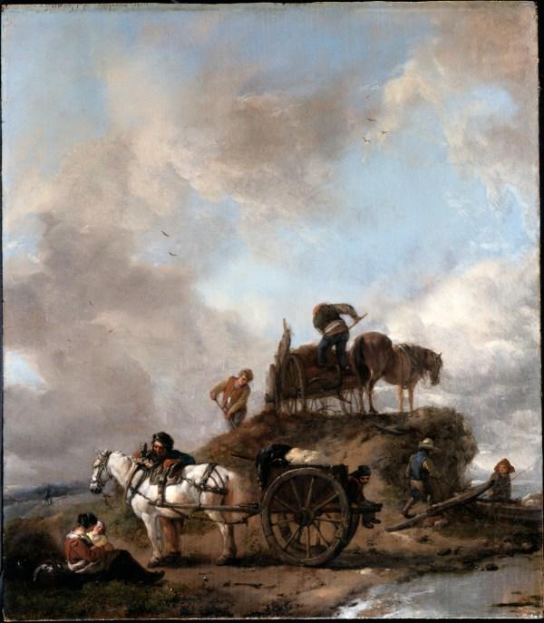 File Wouwerman Philips - Peasants In Fields- Hay