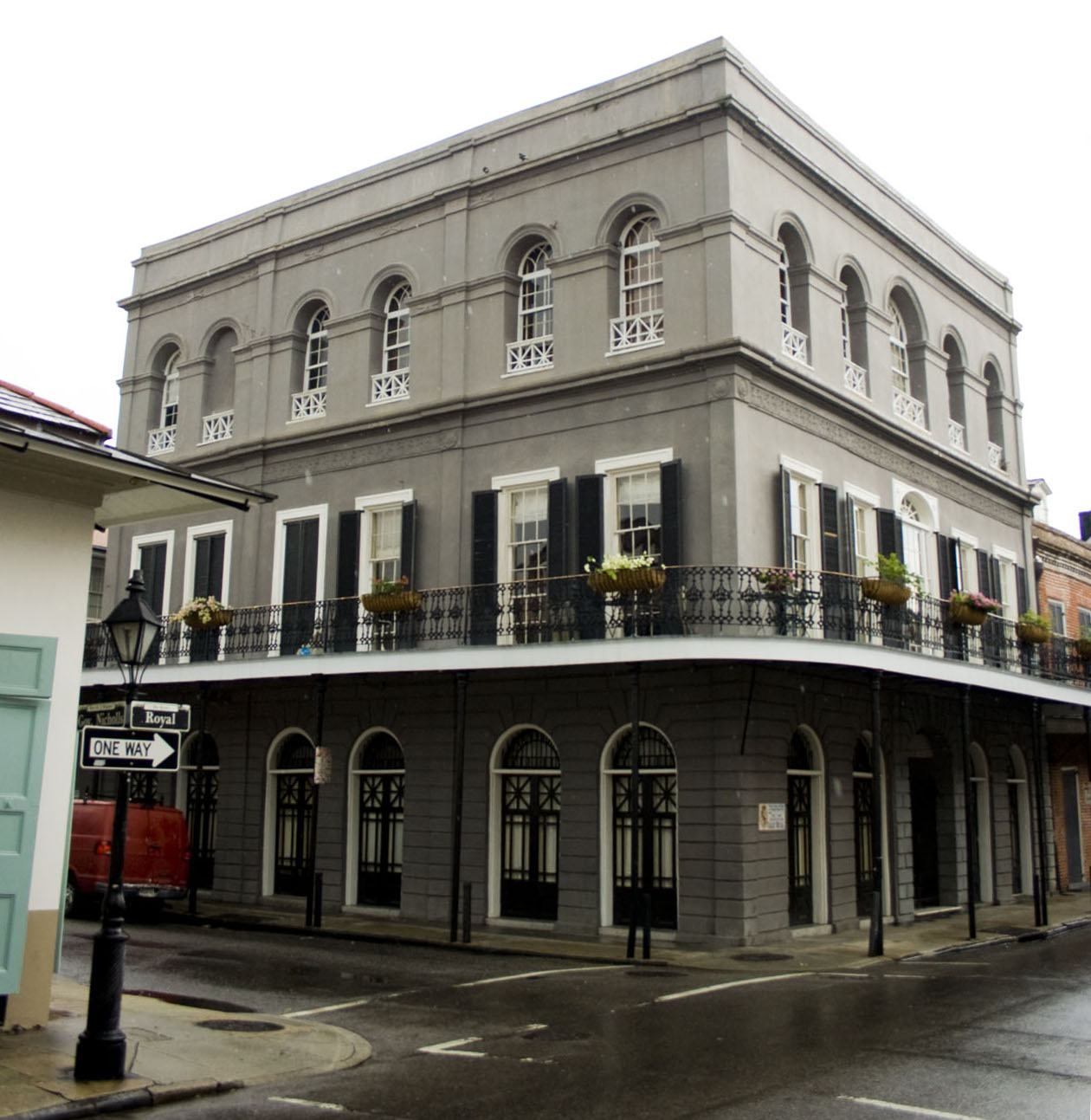 English: The LaLaurie residence in 1140 Royal ...